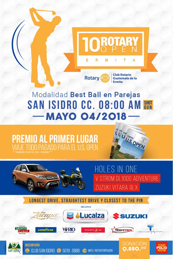 10 ROTARY OPEN