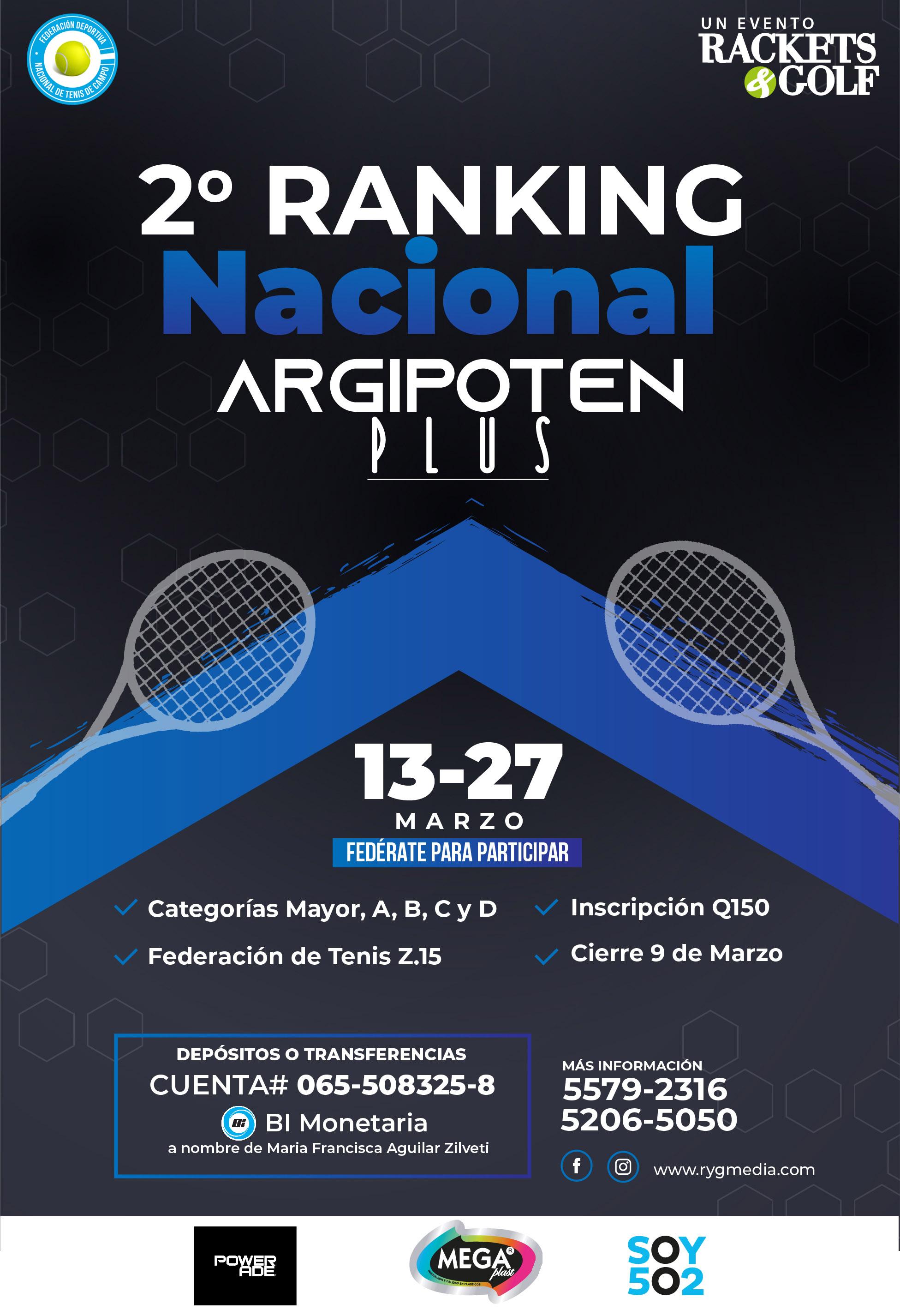 2do Ranking Nacional