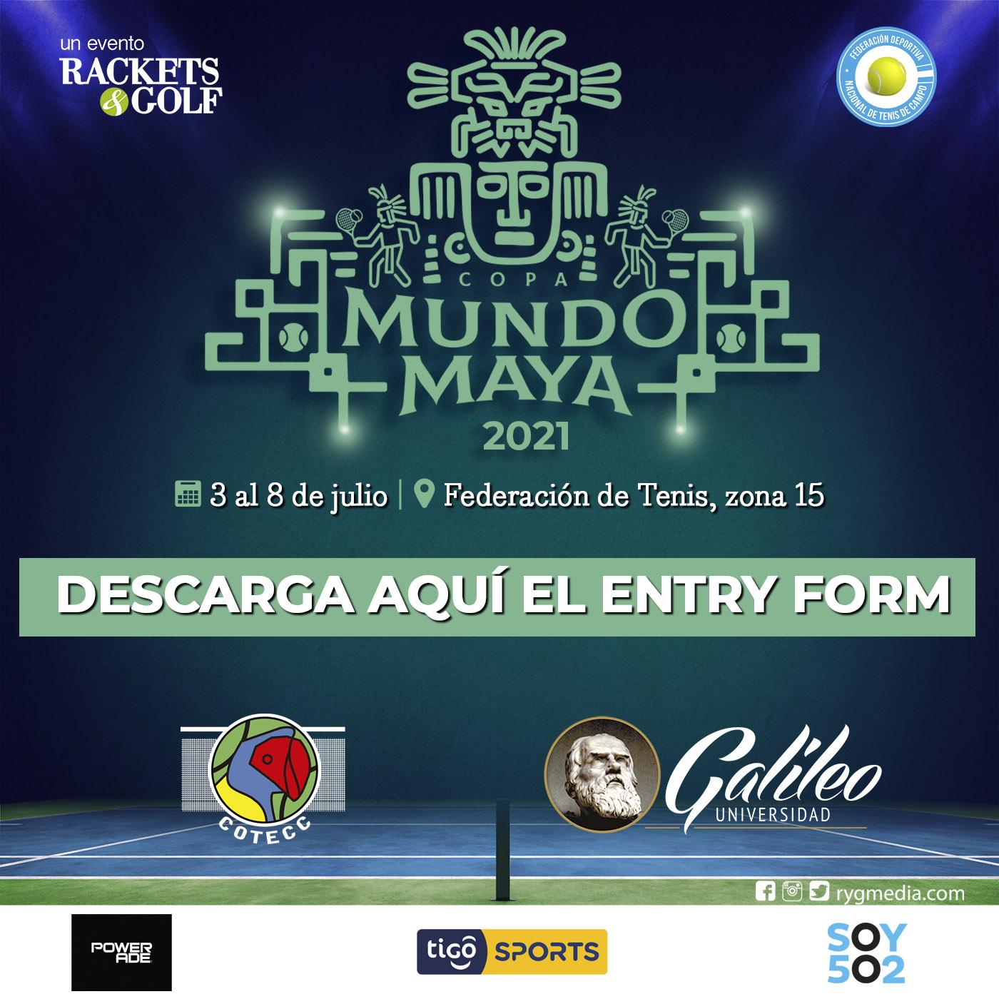 Copa Mundo Maya U14 Entry Form